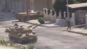 Mit Panzern gegen Regimegegner: Assad hält an Gewaltkurs fest