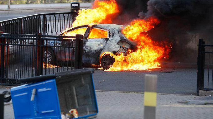 Welle der Gewalt in England: Welche Orte sind betroffen?