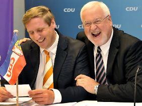 Der scheidende Ministerpräsident Carstensen geht auf Abstand zu seinem einstigen Ziehsohn.