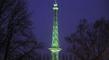 """Langer Lulatsch"" oder ""Eiffelturm Berlins"": Berliner Funkturm wird stählerne 90"