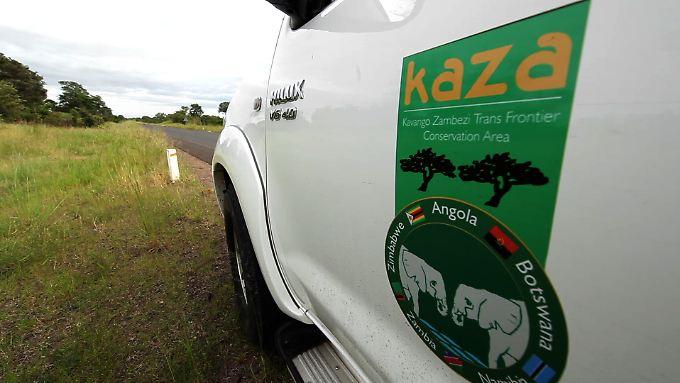 "Am ""Kaza""Naturpark sind fünf Länder beteiligt."