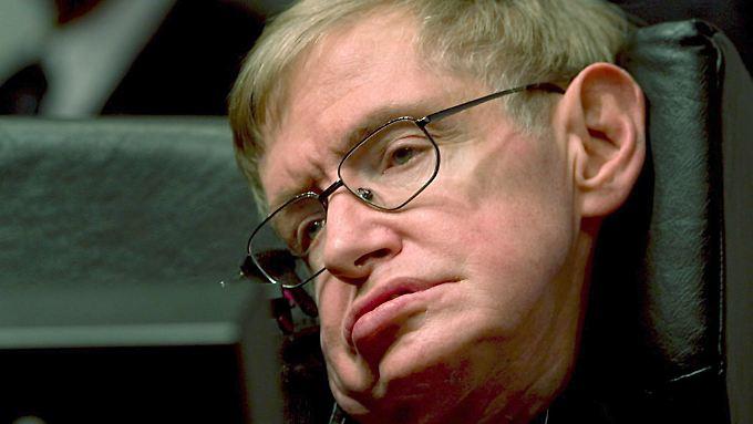 Auch der Astrophysiker Stephen Hawking hat ALS.