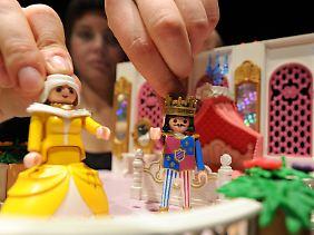 ...oder Prinzessinnen: Der Fantasie sind keine Grenzen gesetzt.