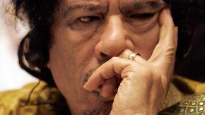 Gaddafi international gesucht: Schlinge zieht sich langsam zu