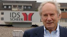 IDS-Gründer August-Wilhelm Scheer.