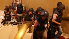 Kopfgeld auf Gaddafi: Gefangene Journalisten wieder frei