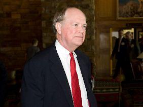 Hält nichts von QE3: Der Chef der Philadelphia Fed, Charles Plosser