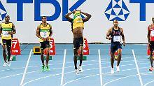 Zu früh aus dem Startblock: Usain Bolt.