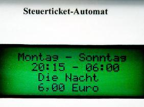Das Ticket ist auf Verlangen vorzuzeigen.
