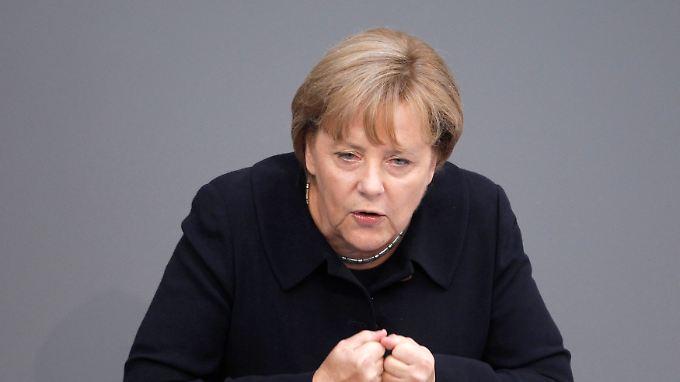 """Merkel plädiert für """"mehr Europa""""."""