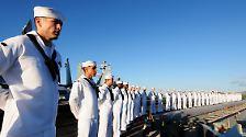 Wettrüsten auf dem Meer: Die Macht der Flugzeugträger