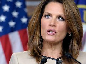 """Für die Bewerberin um die republikanische Präsidentschaftskandidatur, Michelle Bachmann, ist Obamas Plan ledigliich ein """"Kunstgriff""""."""