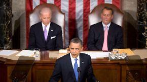 Vertrauen schaffen und investieren: Obama drängt zum Konjunkturpaket