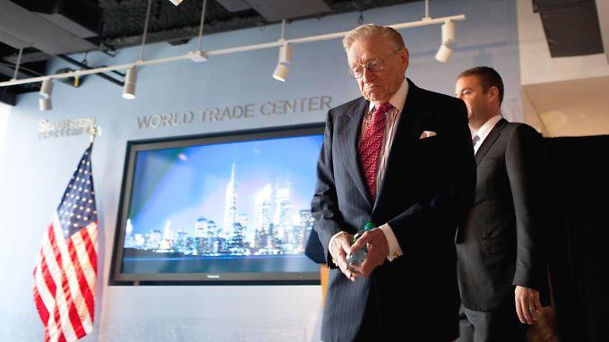 Larry Silverstein will noch die Errichtung aller Hochhäuser erleben.