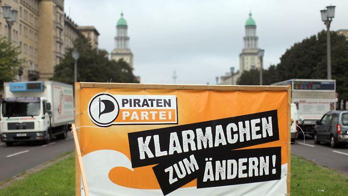 Bisher geht es vor allem darum, sich von den etablierten Parteien abzusetzen.