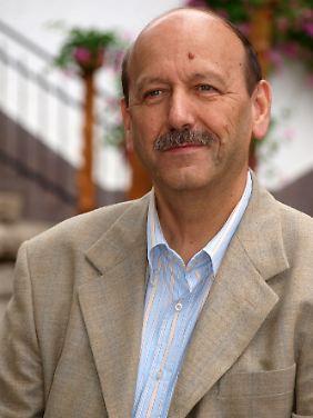 Luigi Nicolussi war 25 Jahre lang der Bürgermeister von Lusern. Er will das Zimbrische als gesprochene Sprache bewahren.