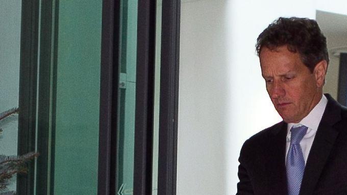 Gute Ratschläge im Gepäck: Geithner überrascht EU-Finanzminister