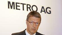 Eckhard Corde, Kopf der Metro AG