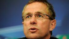 Ralf Rangnick tritt auf Schalke zurück: Der Nimmermüde kann nicht mehr