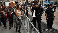 Andauernde Proteste in Manhattan: Wutbürger an der Wall Street