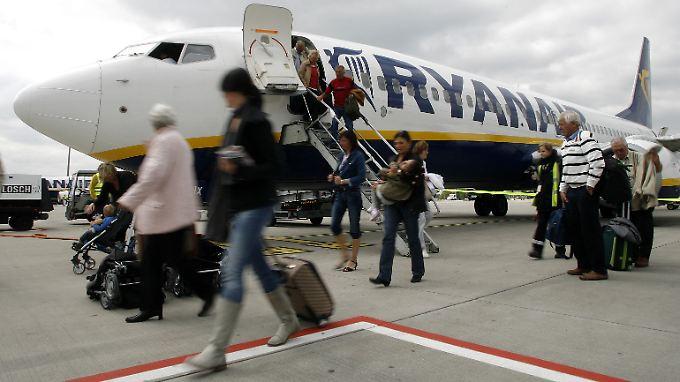 Ryanair sorgt für 95 Prozent des Passagieraufkommens in Hahn.