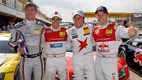 DTM-Rennen in Valencia: Ekström sichert sich die Pole