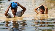 Zwei Taifune in zwei Wochen: Tausenden steht Wasser bis zum Hals
