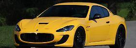 646 PS spendiert Novitec dem Maserati Gran Turismo MC Stradale.