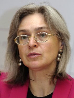 Anna Politkowskaja starb im Oktober 2006.