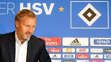 Der Neue beim HSV: Thorsten Fink übernimmt den Bundesliga-Dino als Liga-Schlusslicht.