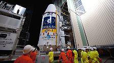 Endlich!: Galileo ist gestartet
