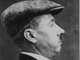 Ret Marut bei seiner Verhaftung 1923 in London.