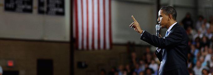 Portsmouth: Obama ist drinnen, ...