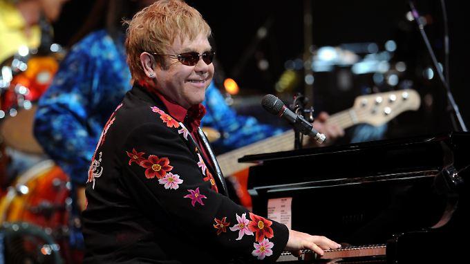 Will sich nicht einschüchtern lassen: Elton John.