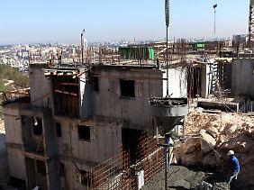 Blick auf den Ost-Jerusalemer Stadtteil Gilo.