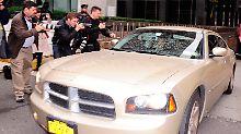 In diesem Auto soll Rajat Gupta sitzen.