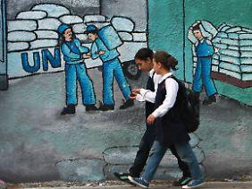 Schulkinder in Gaza-Stadt.
