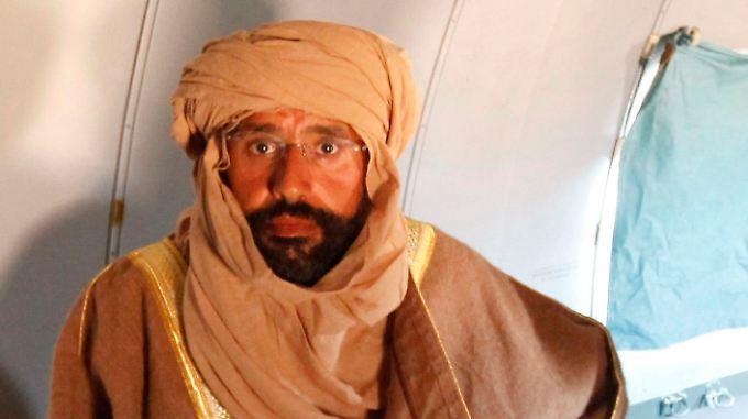 Saif al-Islam befindet sich der Hand der neuen libyschen Regierung.