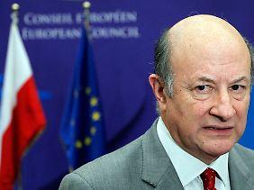 Polens Finanzminister Jacek Rostowski glaubt nicht, dass der Euro ohne EZB-Eingriffe zu retten ist.