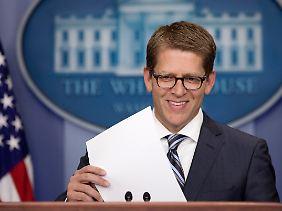 Obamas Sprecher Jay Carney fordert den Kongress auf, seiner Verantwortung nachzukommen.