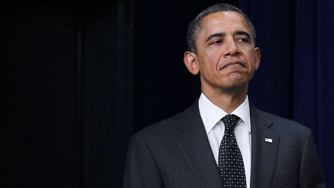 Obama sieht die Schuld bei den Republikanern.