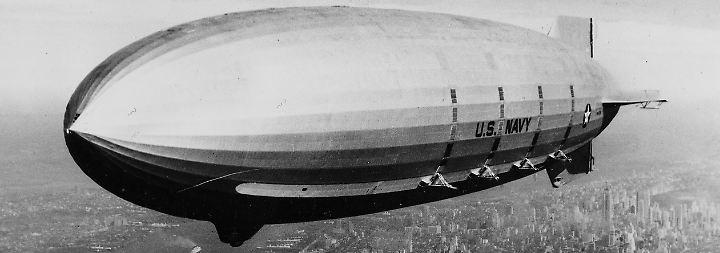 """Erster Passagierflug in die USA: Vor 90 Jahren überquert """"Graf Zeppelin"""" den Atlantik"""