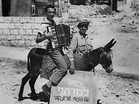 Edens Eltern emigrierten 1933 nach Palästina. Dort schlug sich der Junge als Musikant durch...