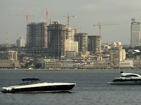 Im Aufbruch: Blick auf Angolas Hauptstadt Luanda.