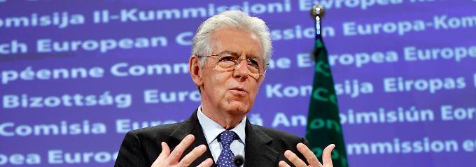 Mario Monti: Der Spardruck auf seine Regierung bleibt ungebrochen.