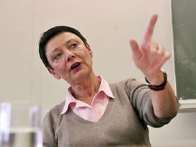 Die Schulleiterin des Diesterweg-Gymnasiums, Brigitte Burchardt.