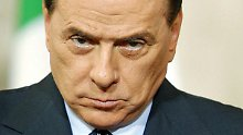 Kein schönes Wochenende für Silvio Berlusconi.