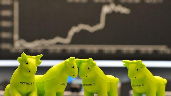 Frisches Geld für die Märkte: Börsen feiern Notenbanken-Aktion