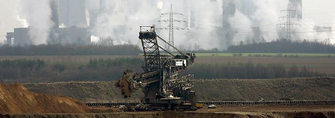 Braunkohletagebau Garzweiler: Neue Kraftwerke brauchen weniger Personal.
