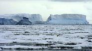 Berge auf dem Meer: Wenn Eis-Giganten abreißen
